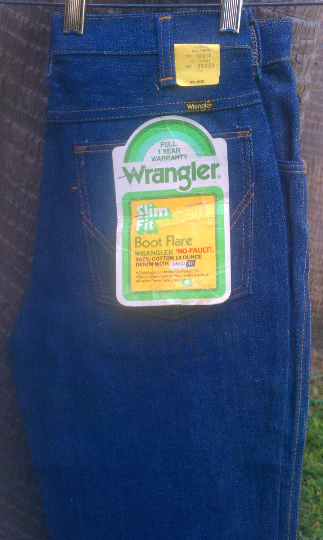 Wrangler bootcut slim