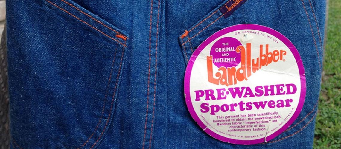 Landlubber 4085 Prewashed Sportswear 70s BIG Bell Bottom Jeans