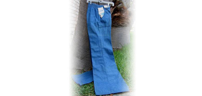 Wrangler for Gals N0233 Big Bell Bottoms Denim Jeans