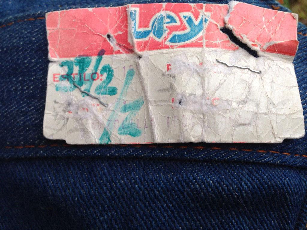 Ley Sergeant Stripe 70s Vintage Denim Bell Bottom Jeans