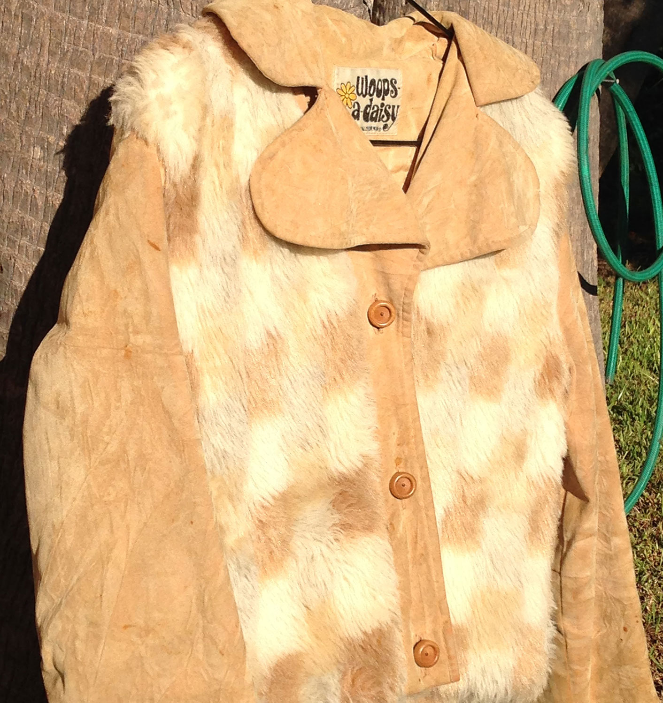 Quot Woops A Daisy Quot 70s Vintage Lady Coat