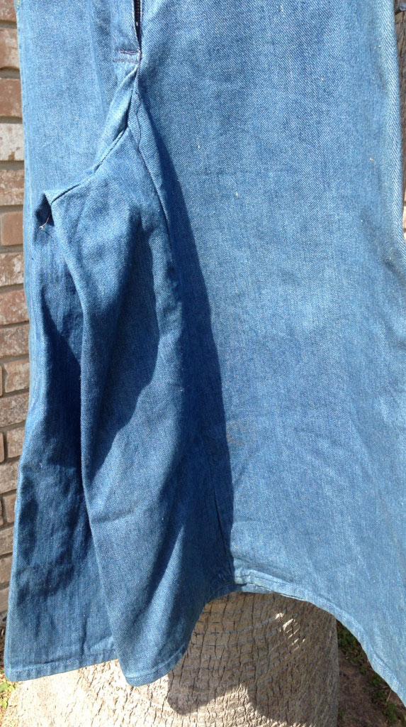 37c4c9a3aa2 Faded Glory Rainbow Striped 70s Vintage Denim Pant Skirt