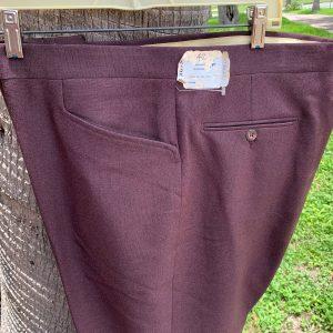 Higgins Sun CM 102 Brown Polyester Boot Cut Pants - 42XOB