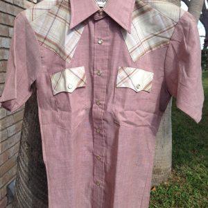 Campus Sportswear Western Style Short Sleeve Shirt