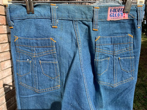 Faded Glory Pocket Boot Cut Jeans