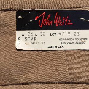 John Weitz Star Pants 36X32