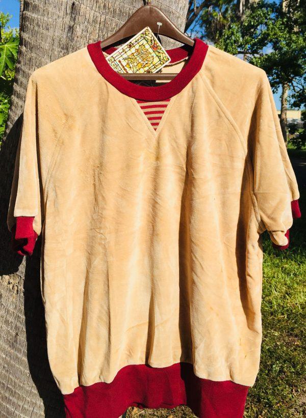Kennington Light Brown Velour Shirt - X Large