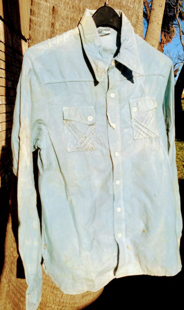 """Madman"" Prewashed 100% Cotton Large 42 Inch Chest Shirt"