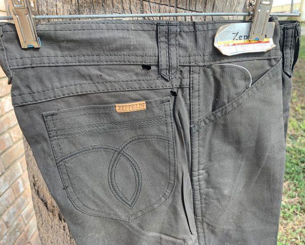 Zeppelin 133-A black pant Cotton sheeting 133-A