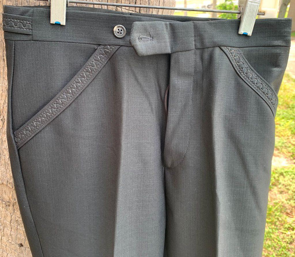 Campus Black Pant Pattern 28X36 22B