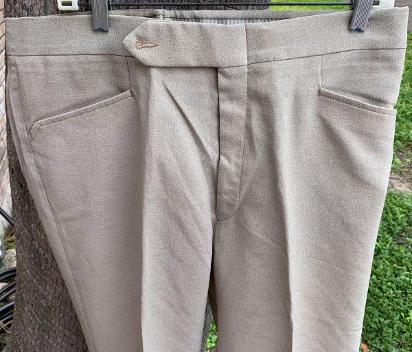 Glen Oaks Beige 36X32 21B Boot Cut Polyester Pants