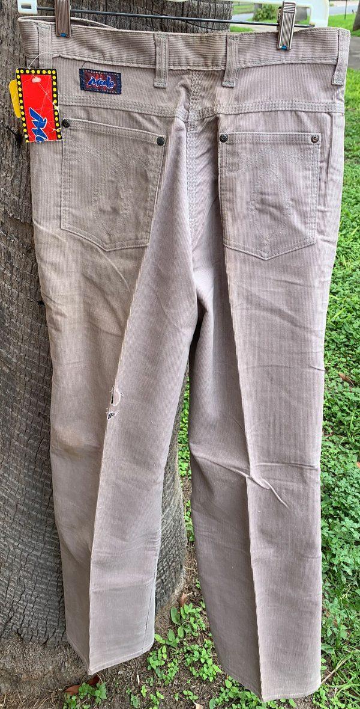 Male Corduroy 32X34 22B Pants