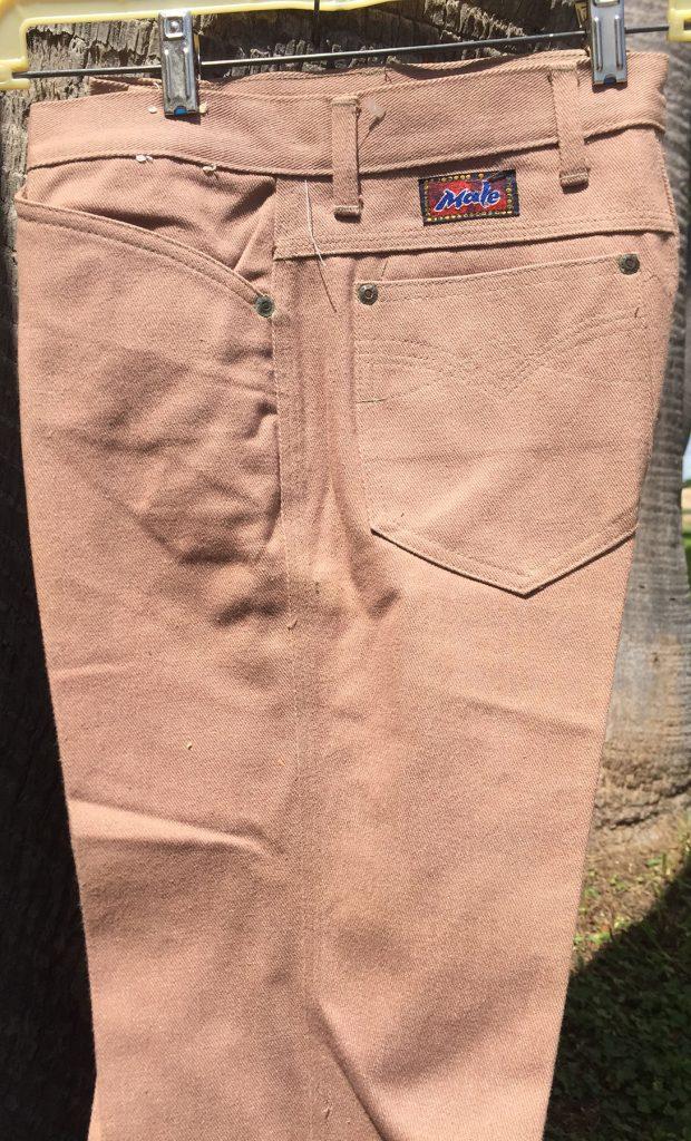 Male Sand 30X33 17B Boot Cut Pants
