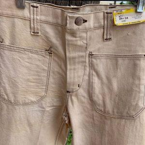 Wrangler 1W375NT Light Tan Cotton Pants 29X35 36H 20TH 16K 23B