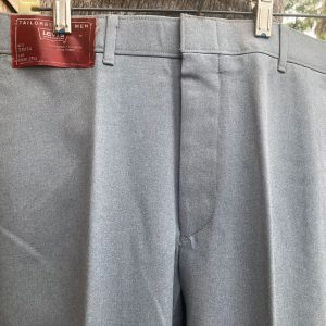 Levis Western Gray Polyester Pants 33X34 20B